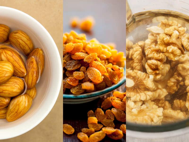Why you should soak almonds, walnuts and raisins
