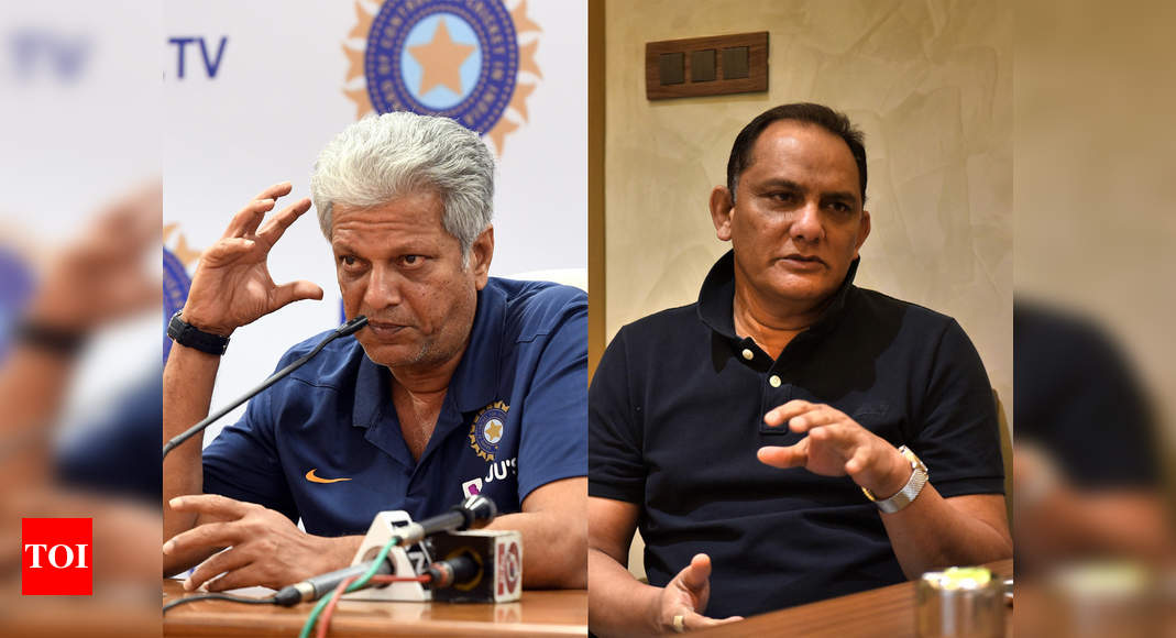 There are very few sharper brains than WV Raman: Azharuddin backs former India teammate | Cricket News – Times of India