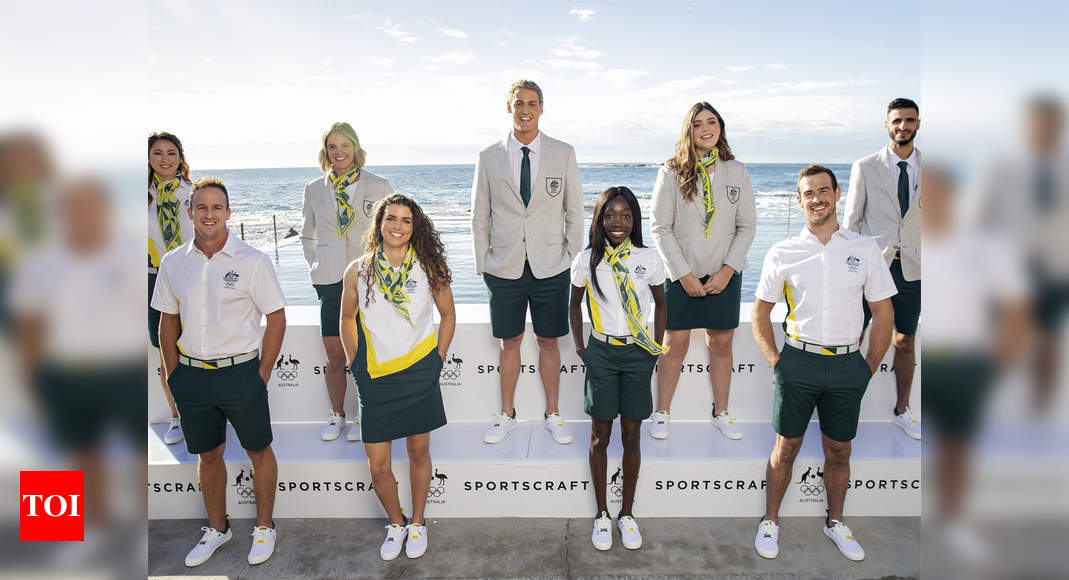 Olympics: Australia unveils opening ceremony uniforms for Tokyo Games