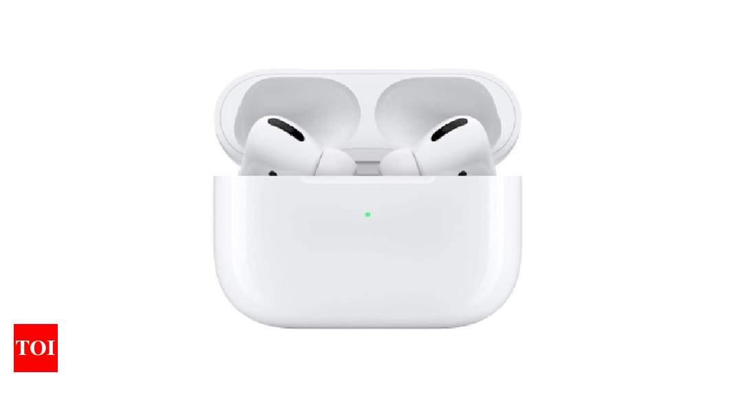 Apple may include health tracking features in future AirPods – Times of India