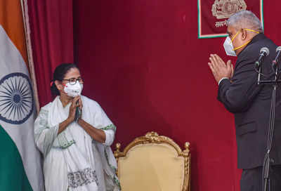 'Change Bengal Governor Dhankar in the interest of good governance': Mamata writes to Prime Minister, President | India News