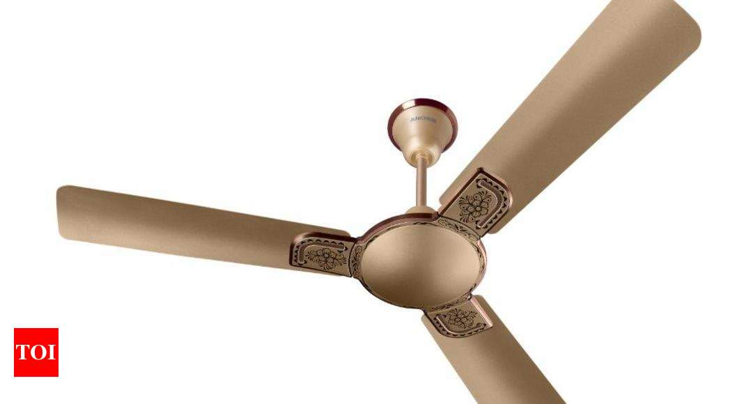 Panasonic:  Panasonic introduces smart IoT ceiling fan 'Captor i-Kraft' – Times of India