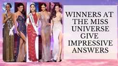 Check Out The Remarkable Answers By Top 5 Finalists At Miss Universe 2020!