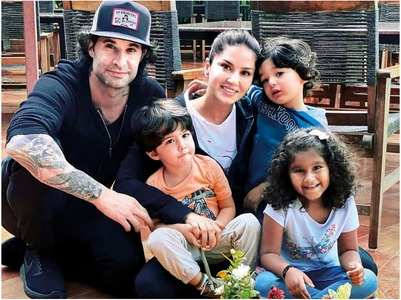 Sunny Leone on work from home