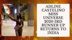 Miss Universe 2020 Runner Up Adline Castelino's Triumphant Return To India!