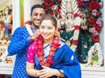 Lovely pictures from Marathi actress Sonalee Kulkarni's intimate wedding ceremony