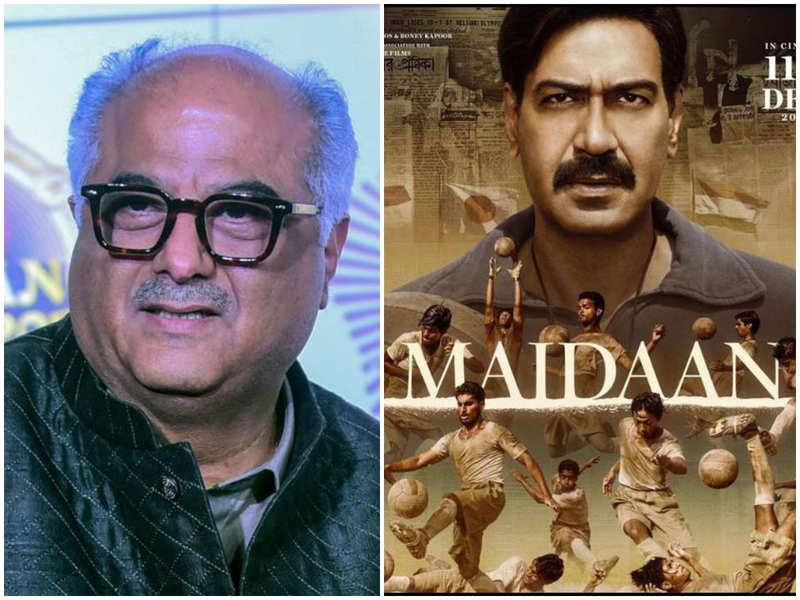 Exclusive! Boney Kapoor: Have spent Rs 30 crore on Ajay Devgn's 'Maidaan' sets; aiming to release it in cinema halls