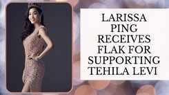 Netizens Slam Larissa Ping For Supporting Miss Universe Israel 2020 Tehila Levi!