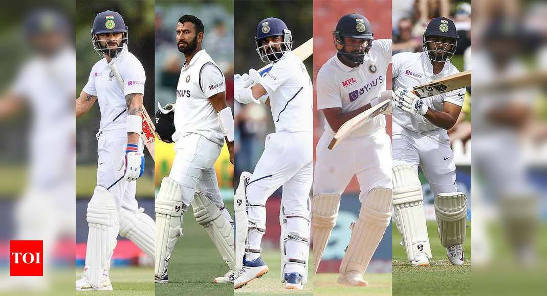 Team India batsmen need to score big in Test series against England | Cricket News – Times of India