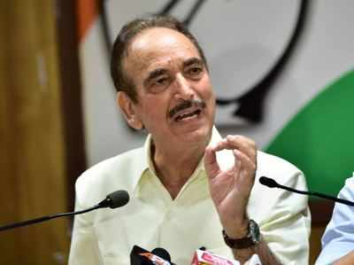 Congress to launch new aid activities: Azad | India News