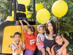 Kim Kardashian gives fans a glimpse from son Psalm's lavish birthday party