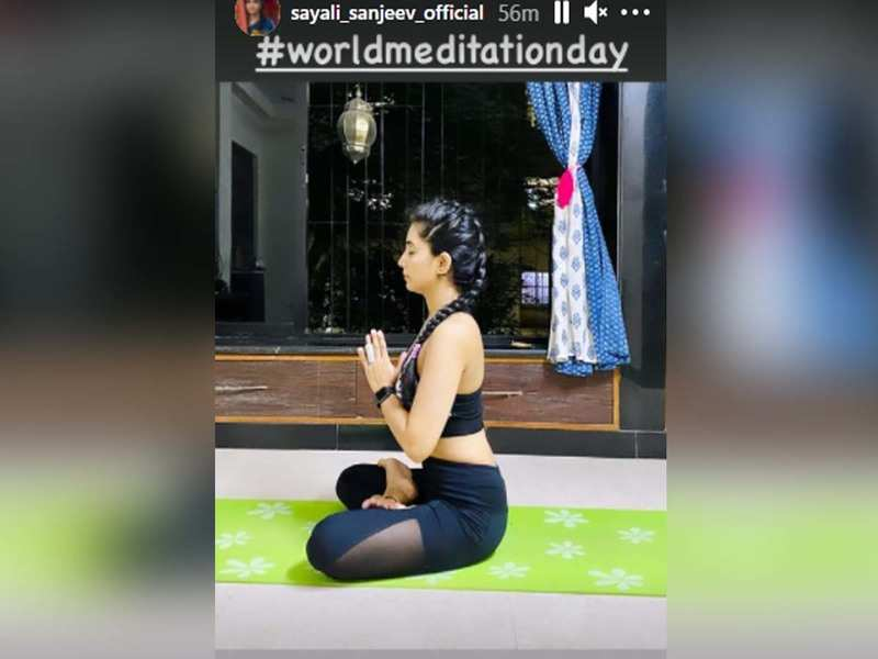 Sayali Sanjeev shares the importance of meditation on International Meditation day