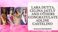 Former Beauty Queens Congratulate Adline Catelino On Her International Win!
