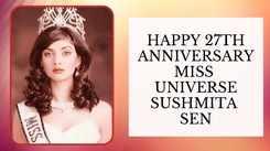 Sushmita Sen Celebrates the 27th Anniversary Of Miss Universe Win!
