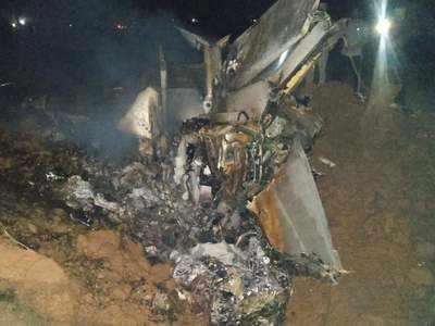 IAF pilot, married a year ago, dies in MiG crash   India News