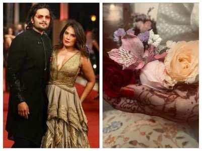 Ali Fazal & Richa spark marriage rumours