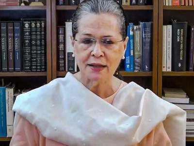 Let Ayushman cover the black mushroom: Sonia Gandhi   India News