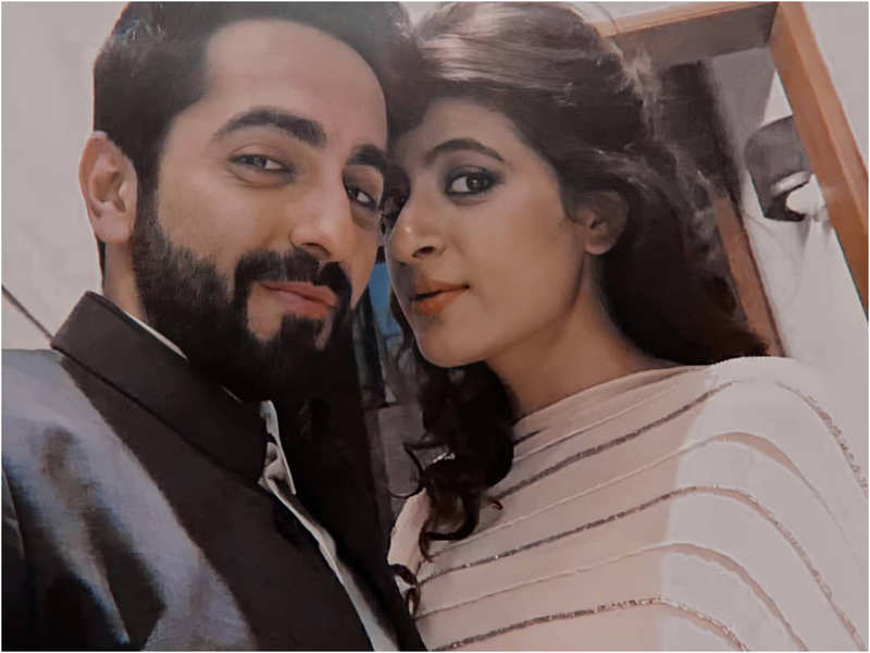'Many moons ago' writes Tahira Kashyap sharing a throwback picture with Ayushmann Khurrana
