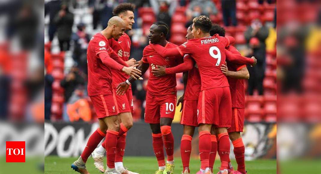 Mane double secures Champions League spot for Liverpool   Football News – Times of India