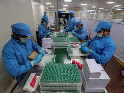 Serum Institute of India, Bharat Biotech produces minimum doses of 8 crore / month, but only 5 crore will be delivered at the end of May | India News