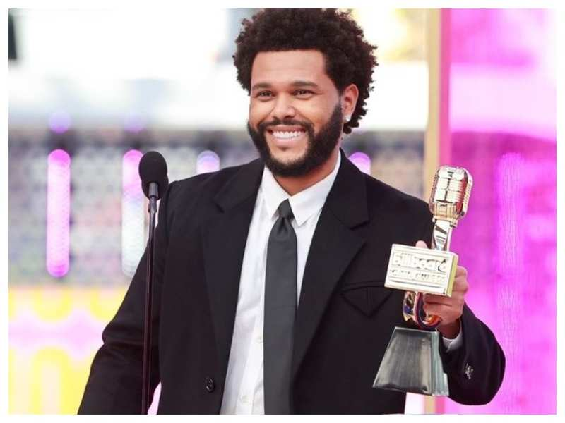 The Weeknd: Billboard Music Awards: The Weeknd wins multiple honours, including top male artist | English Movie News - Times of India