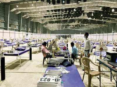 Mumbai: Three jumbo Covid-19 centres stop new admissions   Mumbai News -  Times of India