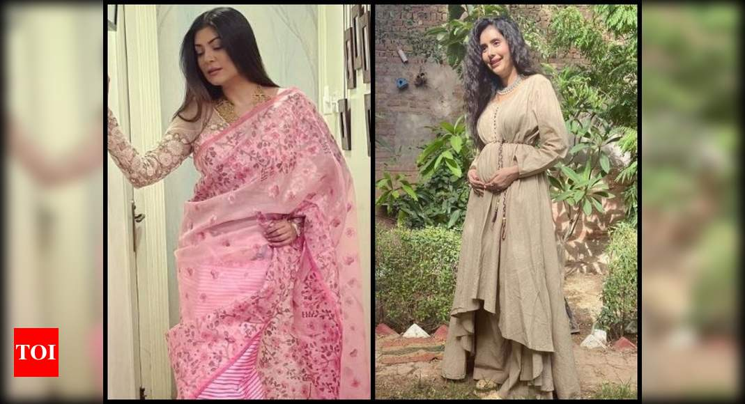 Bua-to-be Sushmita Sen shares a beautiful picture of pregnant sister-in-law Charu Asopa; says, 'Can't wait to hold the little one' | Hindi Movie News