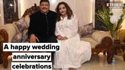 A happy wedding anniversary celebrations