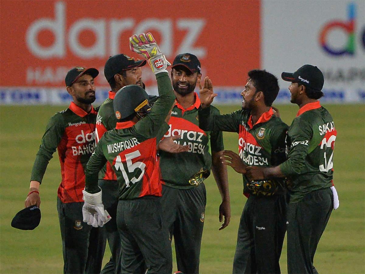 2nd ODI: Bangladesh crush Sri Lanka to clinch series   Cricket News - Times  of India