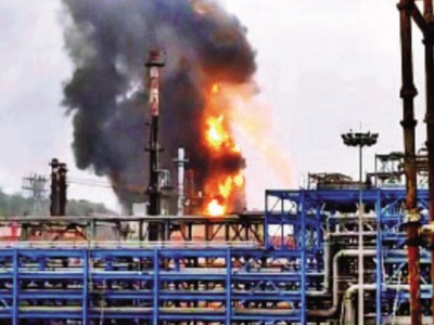 Major fire breaks out at HPCL plant in Visakhapatnam, none hurt
