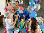 Inside pictures from Kunal Kemmu's birthday celebration with family
