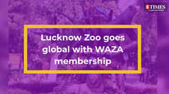 Lucknow Zoo goes global with WAZA membership