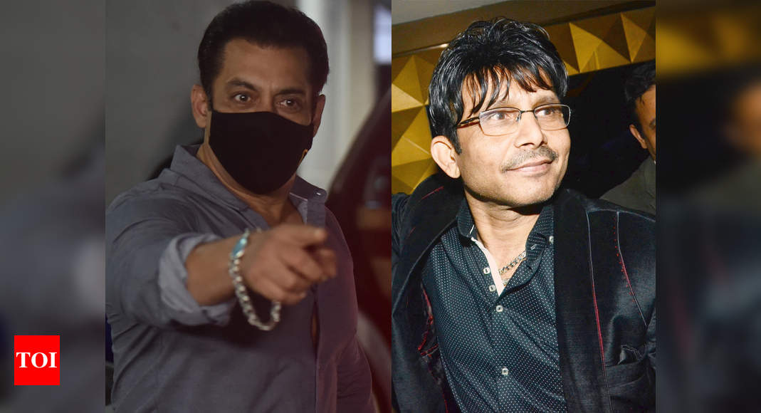Kamaal R Khan appeals to Salim Khan after defamation notice: I am not here to destroy Salman Khan's films or his career | Hindi Movie News