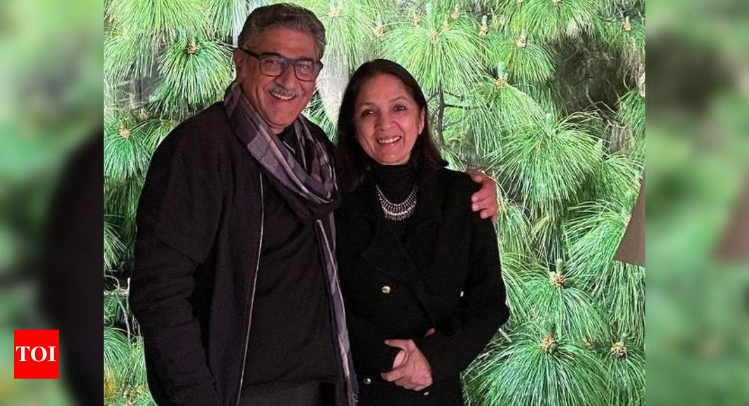 """Neena Gupta's First Interview with Husband Vivek Mehra: """"No politics, no conspiracies, just love""""- Exclusive Video – Times of India ►"""