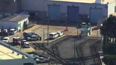 Multiple people dead after a shooting at a San Jose rail yard