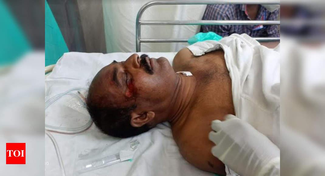 Photo of Mumbai: Constable suffers head injury after scooter bangs into him | Mumbai News