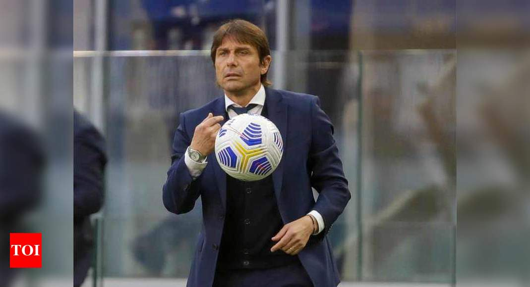 Antonio Conte leaves Inter Milan after agreeing contract termination   Football News – Times of India