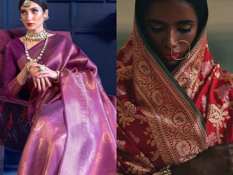 How to care for your vintage Banarasi sari