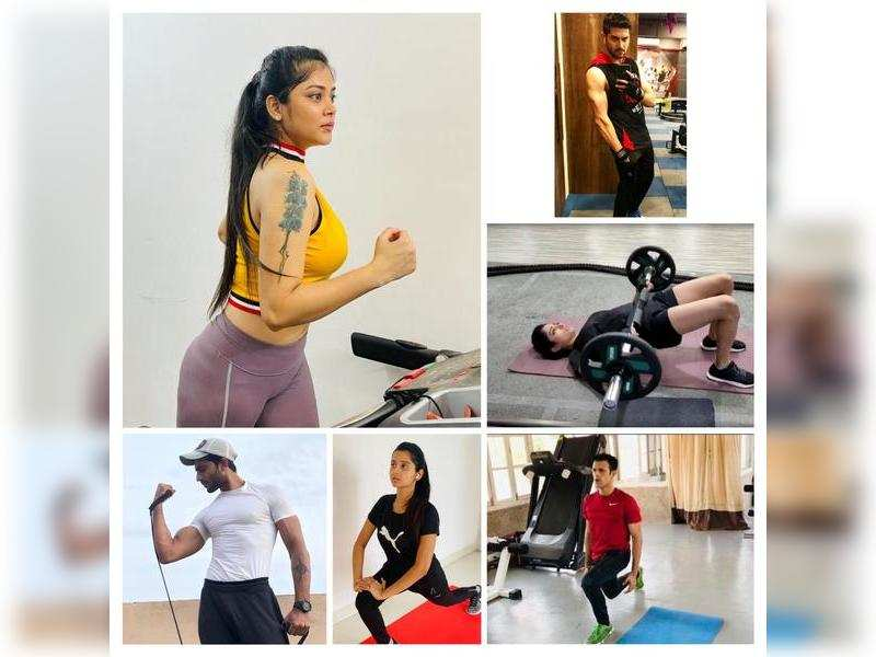 The celeb guide to keeping fit while you stay safe during the lockdown