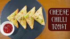 Watch: How to make Chilli Cheese Toast