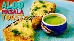 Watch: How to make Aloo Masala Toast
