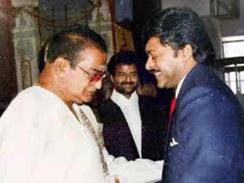 Chiranjeevi on the legendary actor-politician Nandamuri Taraka Rama Rao's birth anniversary: #BharatRatnaforNTR