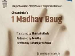 Watch Chetan Datar's acclaimed play featuring Revathy in Ranga Shankara's Staged@RS program