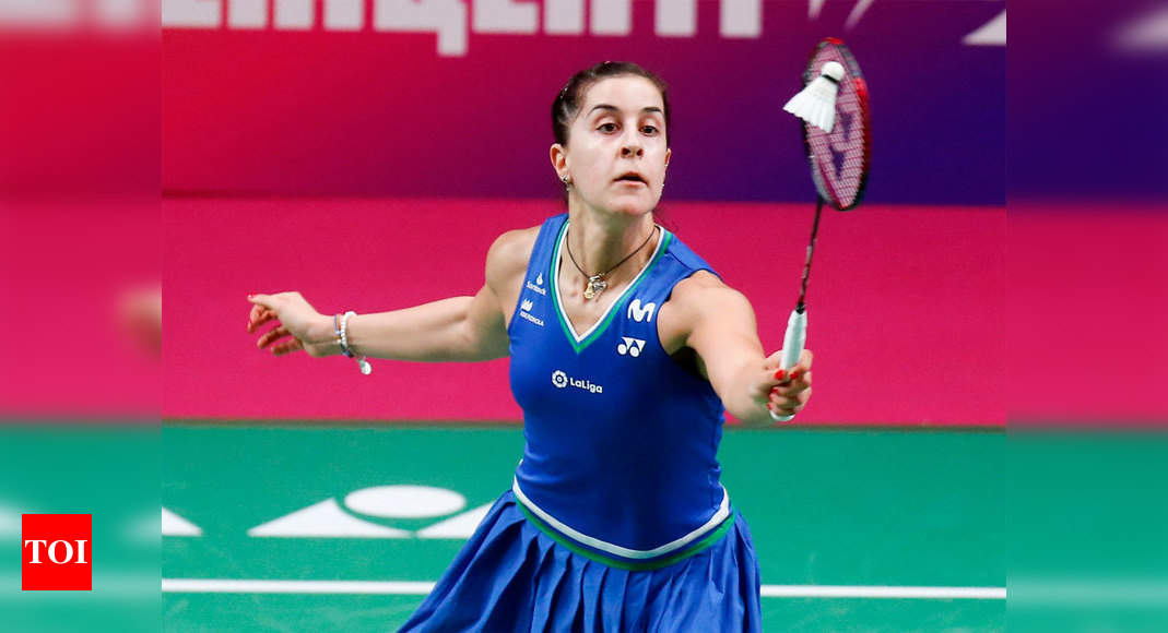 Olympic champion Carolina Marin doubtful for Tokyo after suffering knee injury | Tokyo Olympics News – Times of India
