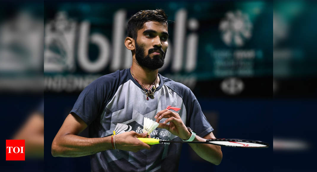 BWF should look into decision on qualification for Olympics: Kidambi Srikanth | Tokyo Olympics News – Times of India