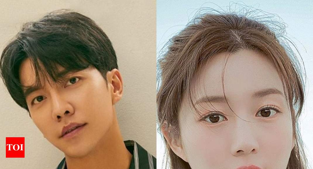 Lee Seung Gi fan protests against his relationship with Lee Da In – Times of India