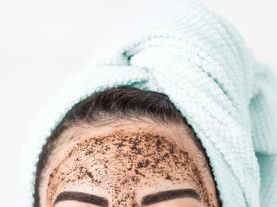 Korean face scrub for glowing skin