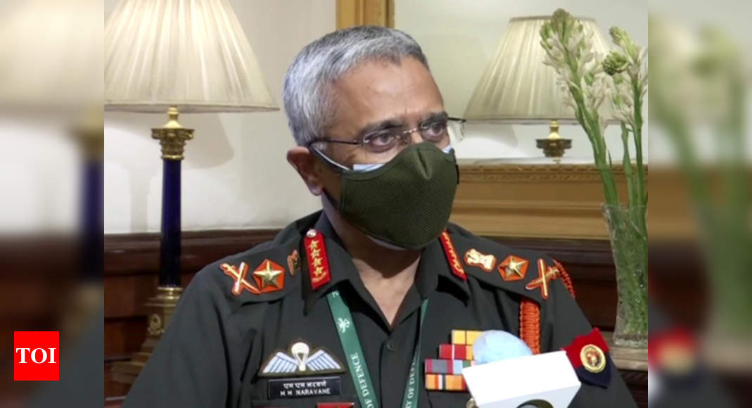Pakistan will have to dismantle terror infrastructure for normalisation of ties: Army chief | India News – Times of India