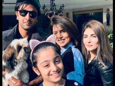 Ranbir Kapoor's niece joins Instagram