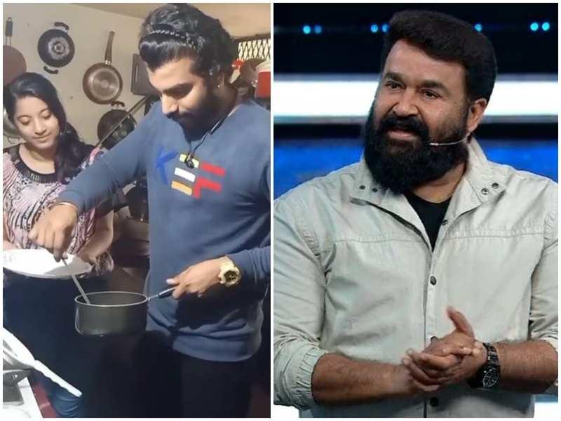 Watch: Bigg Boss fame Anoop Krishnan follows superstar Mohanlal's tip to make poached egg